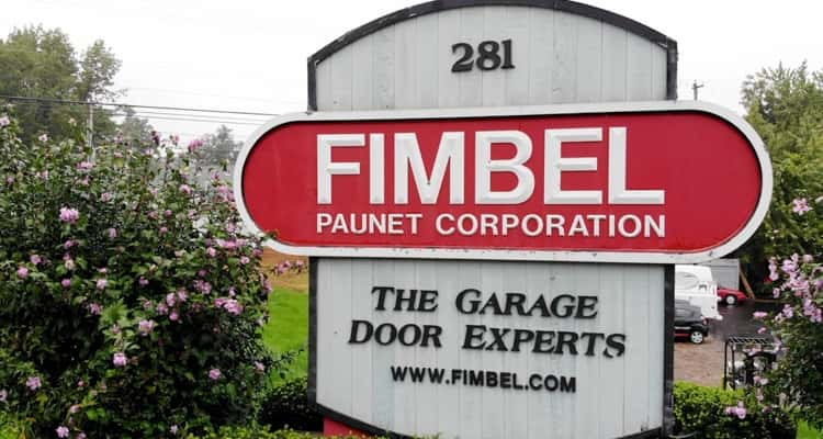 Fimbel Garage Doors Sign