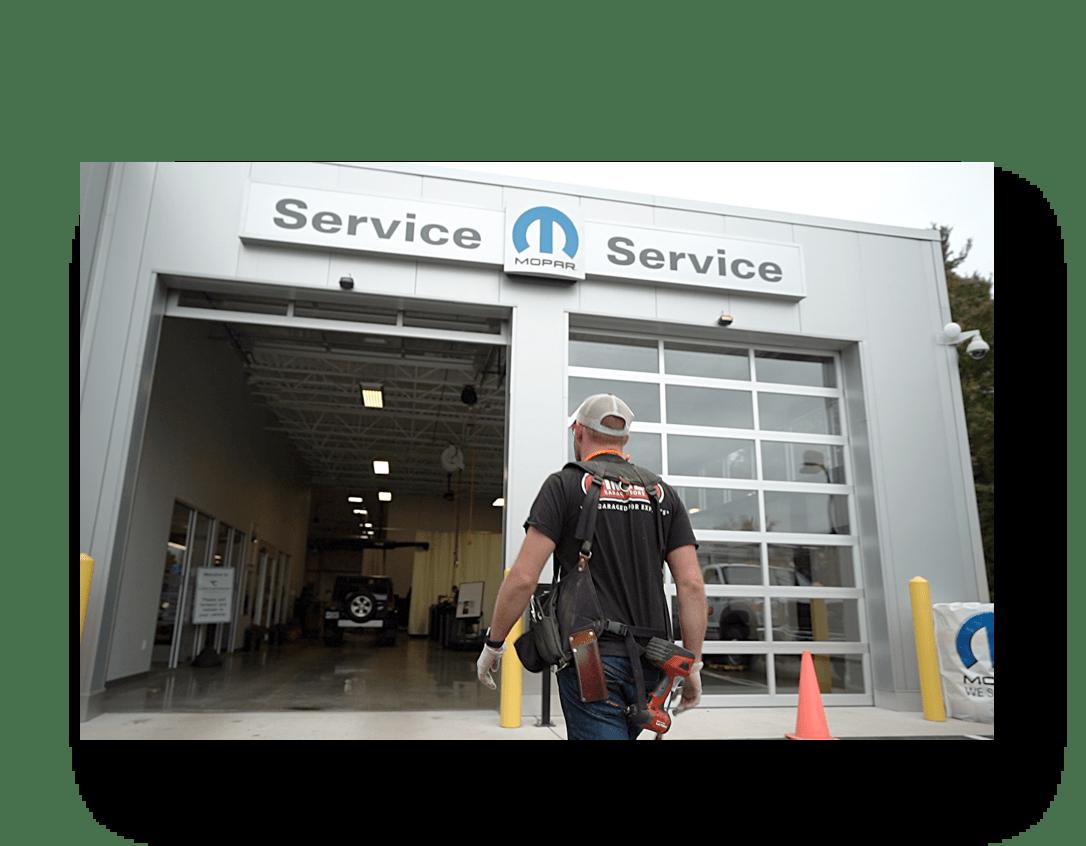 New Hampshire Commercial Garage Doors