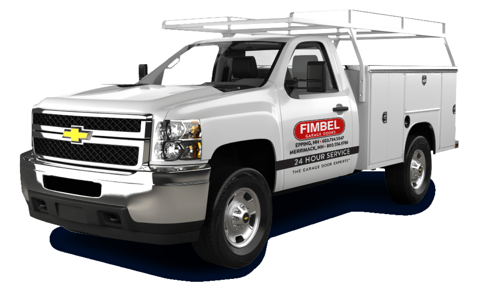 Fimbel Garage Door Work Truck